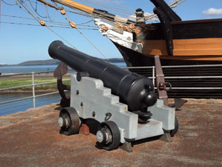 Cannon at the Amity Replica