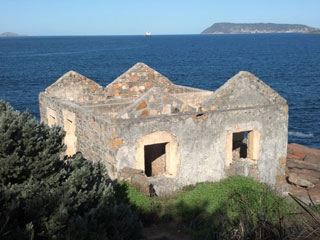 Ruins of the Lighthouse Keepers Dwelling