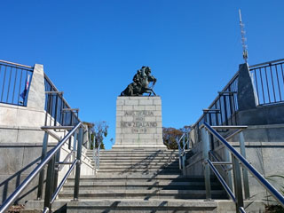Stairway to the Memorial