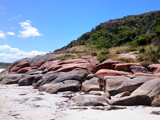 Colourful Granite Outcrops