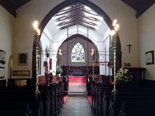 Inside Saint Johns Church